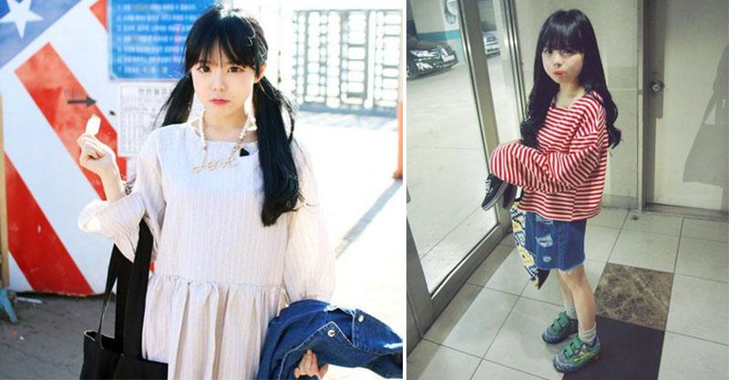外表超像國小生的童顏清純妹「居然是3歲小孩的媽」 孩子的爸還比她幼齒!