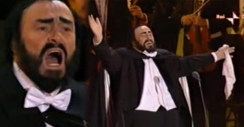 「高音C之王」帕華洛帝癌末 最後一次表演從表情中可看出