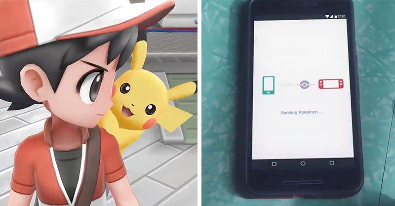 Switch推出《精靈寶可夢》!手機裡的寶可夢可傳輸 高雄小霞:還可以兩人行